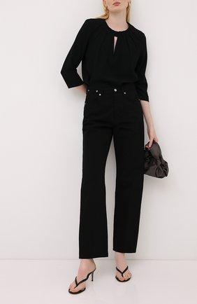 Женская блузка ESCADA черного цвета, арт. 5033522 | Фото 2
