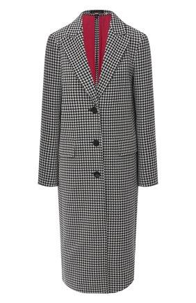 Женское шерстяное пальто ESCADA черно-белого цвета, арт. 5033489 | Фото 1