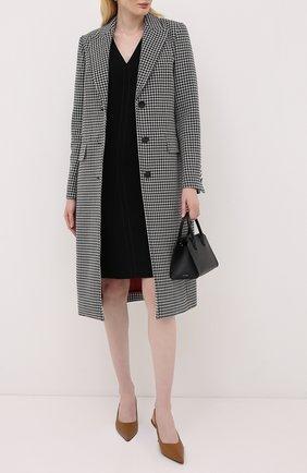 Женское шерстяное пальто ESCADA черно-белого цвета, арт. 5033489 | Фото 2
