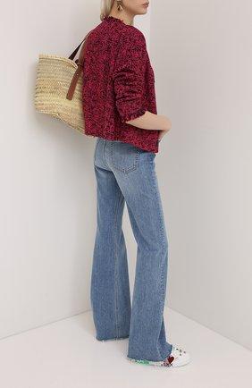 Женский жакет ESCADA SPORT бордового цвета, арт. 5033420 | Фото 2