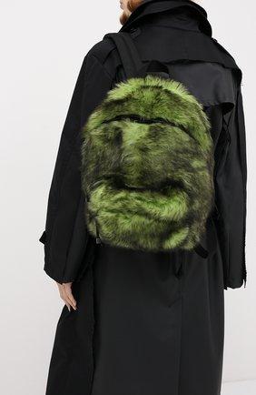 Женский рюкзак VETEMENTS зеленого цвета, арт. UAH21BA160 2402/W | Фото 2