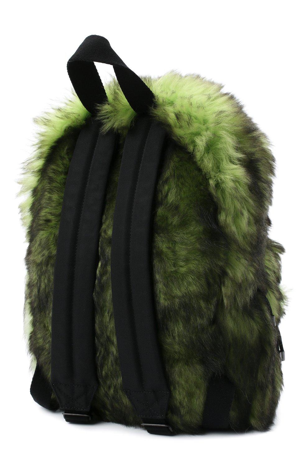 Женский рюкзак VETEMENTS зеленого цвета, арт. UAH21BA160 2402/W | Фото 3