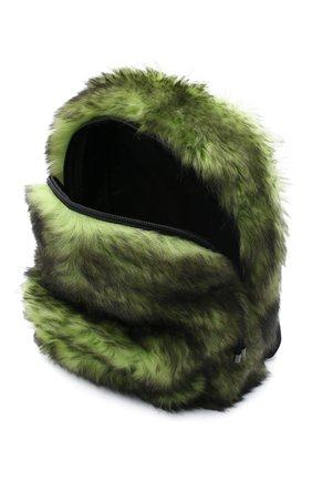 Женский рюкзак VETEMENTS зеленого цвета, арт. UAH21BA160 2402/W | Фото 4