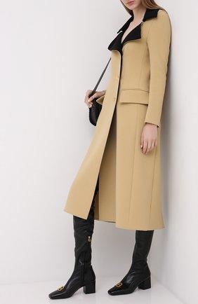 Женские кожаные ботфорты otk BALMAIN черного цвета, арт. UN1C514/LNSA | Фото 2