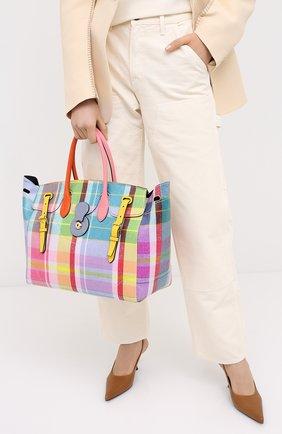 Женская сумка ricky 40 RALPH LAUREN разноцветного цвета, арт. 435800578 | Фото 2