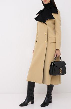 Женские кожаные сапоги mariel LORO PIANA черного цвета, арт. FAL2951 | Фото 2