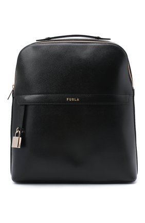 Женский рюкзак piper FURLA черного цвета, арт. BAHZFPI/ARE000 | Фото 1