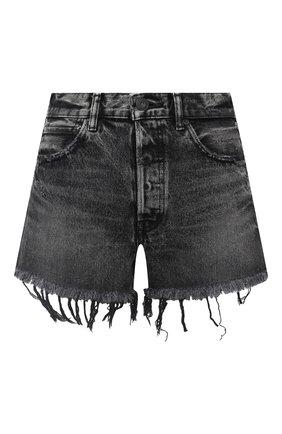 Женские джинсовые шорты MOUSSY черного цвета, арт. 025DSC11-2340 | Фото 1