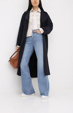 Женская джинсовая куртка MOUSSY белого цвета, арт. 025DSC11-1170 | Фото 2