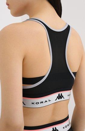 Женский топ koral x kappa KORAL X KAPPA серого цвета, арт. KP416Q05   Фото 4