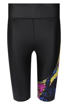 Женские шорты koral x kappa KORAL черного цвета, арт. KP2660HS04 | Фото 1