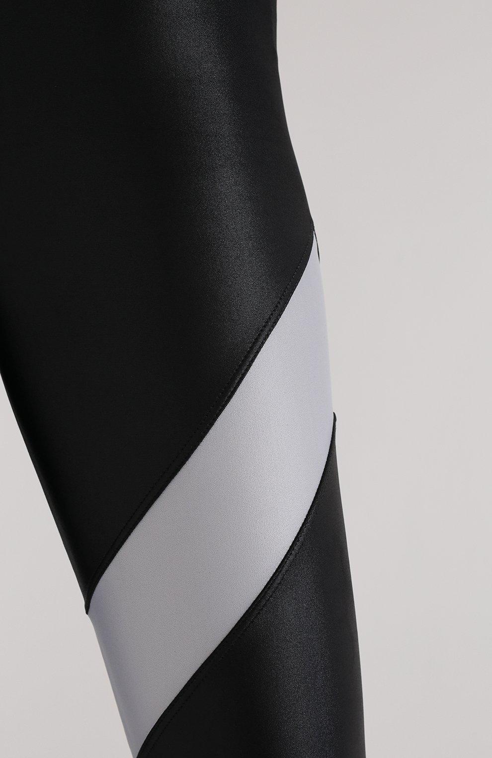Женские леггинсы koral x kappa KORAL X KAPPA черного цвета, арт. KP2492HS04 | Фото 5 (Длина (брюки, джинсы): Стандартные; Кросс-КТ: Спорт; Материал внешний: Синтетический материал; Стили: Спорт-шик; Женское Кросс-КТ: Леггинсы-спорт)