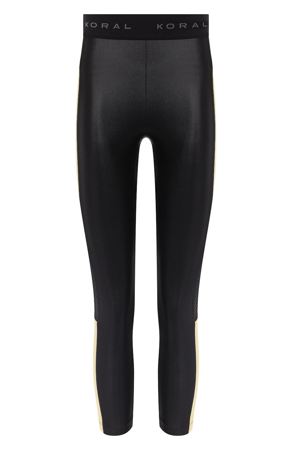 Женские леггинсы KORAL черного цвета, арт. A2140ES04 | Фото 1