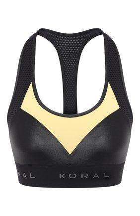 Женская топ KORAL черного цвета, арт. A210ES04 | Фото 1