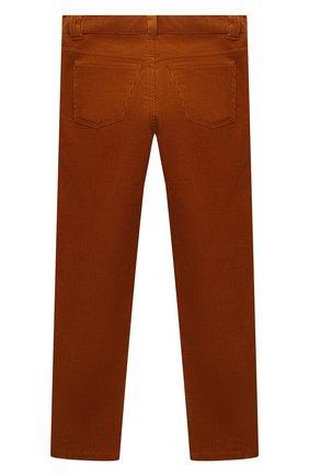 Детские хлопковые брюки LORO PIANA коричневого цвета, арт. FAL2312 | Фото 2