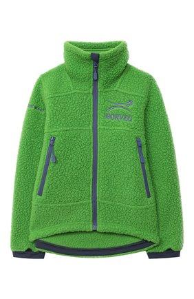 Детский толстовка NORVEG зеленого цвета, арт. 25FWTBS-183 | Фото 1