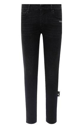 Мужские джинсы OFF-WHITE черного цвета, арт. 0MYA074E20DEN0011001 | Фото 1