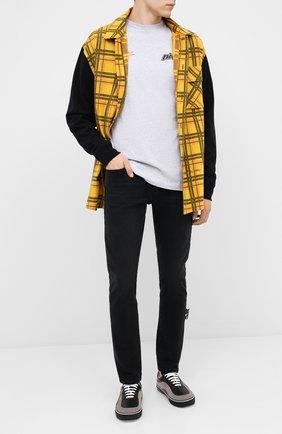 Мужские джинсы OFF-WHITE черного цвета, арт. 0MYA074E20DEN0011001 | Фото 2