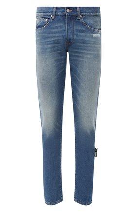 Мужские джинсы OFF-WHITE синего цвета, арт. 0MYA011E20DEN0014901 | Фото 1