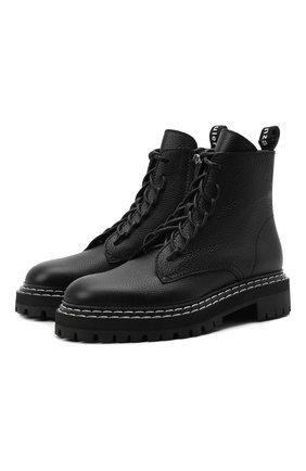 Женские кожаные ботинки PROENZA SCHOULER черного цвета, арт. PS35113A/12110 | Фото 1