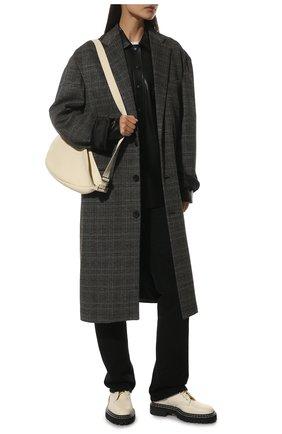 Женские кожаные ботинки PROENZA SCHOULER белого цвета, арт. PS35113A/12113 | Фото 2