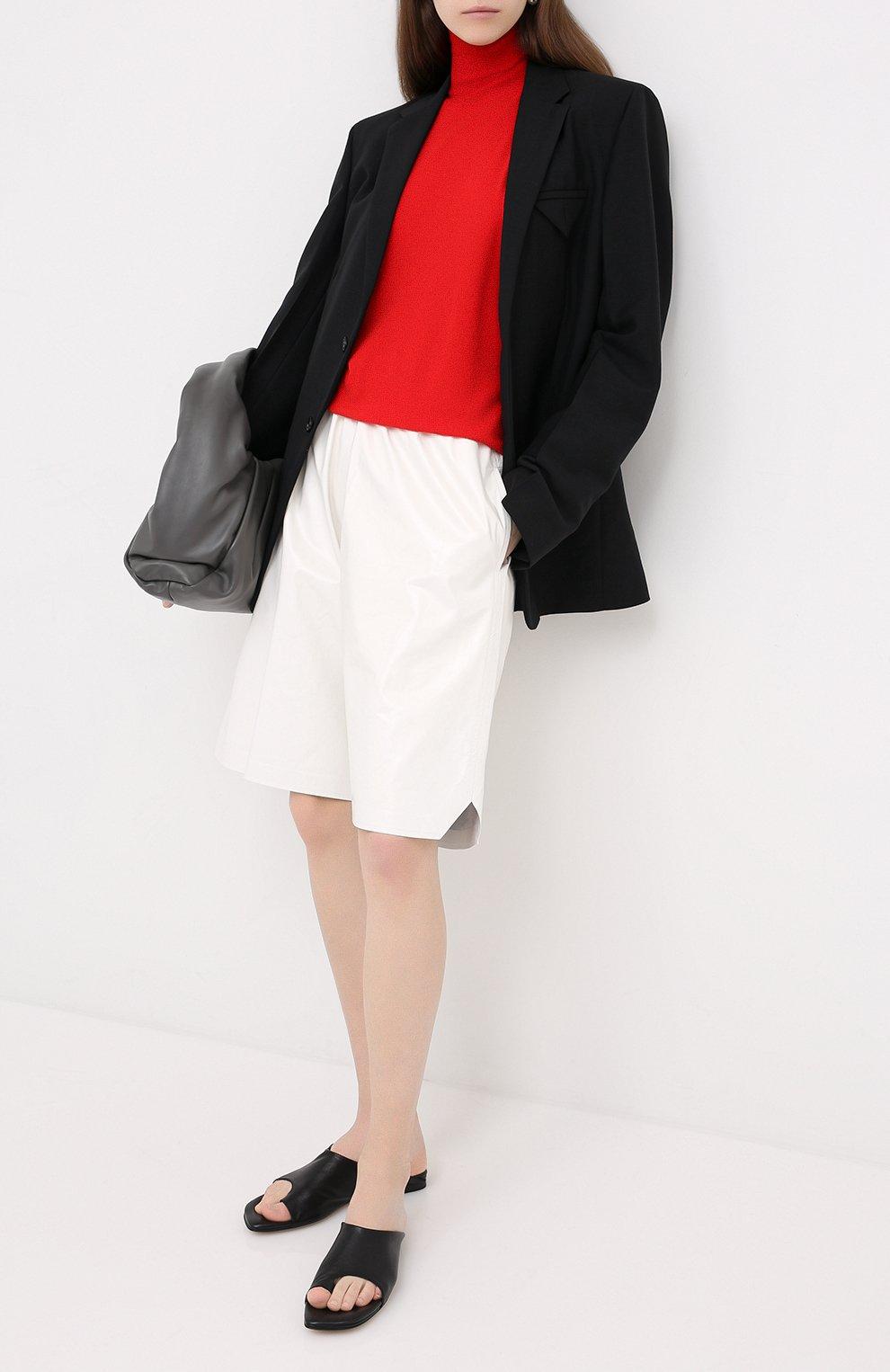 Женский шерстяной жакет BOTTEGA VENETA черного цвета, арт. 628721/VKX00 | Фото 2