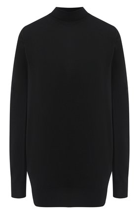 Женская шерстяной пуловер BOTTEGA VENETA черного цвета, арт. 626951/VKWI0 | Фото 1