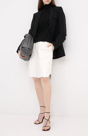 Женская шерстяной пуловер BOTTEGA VENETA черного цвета, арт. 626951/VKWI0 | Фото 2