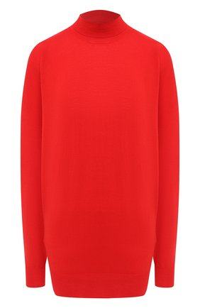 Женская шерстяной пуловер BOTTEGA VENETA красного цвета, арт. 626951/VKWI0 | Фото 1