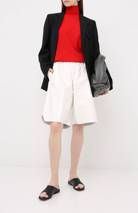 Женская шерстяной пуловер BOTTEGA VENETA красного цвета, арт. 626951/VKWI0 | Фото 2