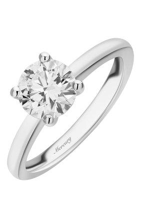 Женские кольцо MERCURY белого золота цвета, арт. MR100/4WRD | Фото 1