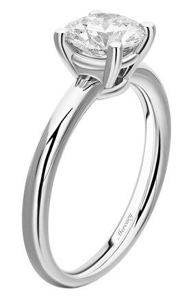 Женские кольцо MERCURY белого золота цвета, арт. MR100/4WRD | Фото 4
