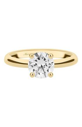 Женские кольцо MERCURY желтого золота цвета, арт. MR100/4YRD | Фото 3