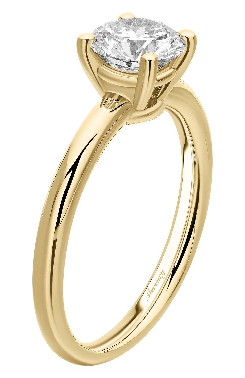 Женские кольцо MERCURY желтого золота цвета, арт. MR100/4YRD | Фото 4