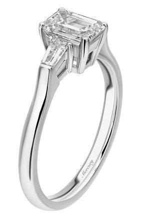 Женские кольцо MERCURY бесцветного цвета, арт. MR100WEDB | Фото 4 (Материал сплава: Белое золото; Драгоценные камни: Бриллианты)