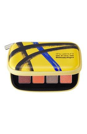 Женские палетка теней для макияжа глаз set the motion onitsuka tiger SHU UEMURA бесцветного цвета, арт. 4935421745673 | Фото 2