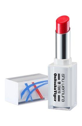 Женская помада для губ rouge unlimited lacquer shine, rd1 flame chaser SHU UEMURA бесцветного цвета, арт. 4935421731713 | Фото 2