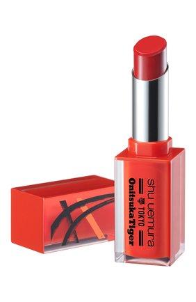 Женская помада для губ rouge unlimited matte, rd163 red boost SHU UEMURA бесцветного цвета, арт. 4935421731744 | Фото 2