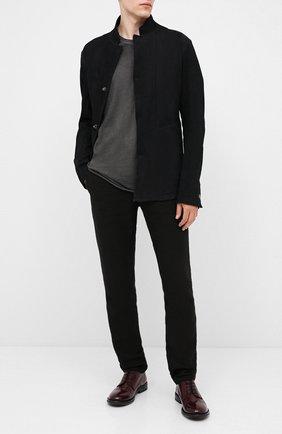 Мужской кожаные дерби MOMA бордового цвета, арт. 2AW107-T0 | Фото 2