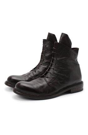 Мужские кожаные ботинки MOMA темно-коричневого цвета, арт. 2CW141-BC | Фото 1