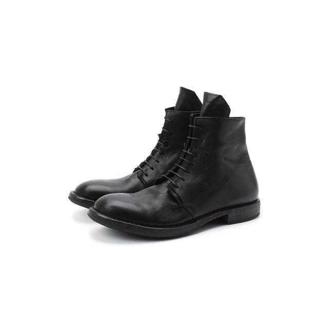 Кожаные ботинки Moma.