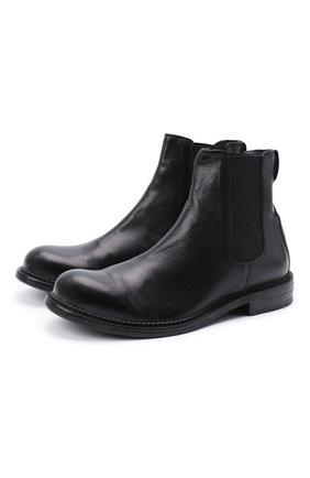 Мужские кожаные челси MOMA черного цвета, арт. 2CW152-BT | Фото 1