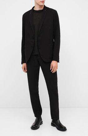 Мужские кожаные челси MOMA черного цвета, арт. 2CW152-BT | Фото 2