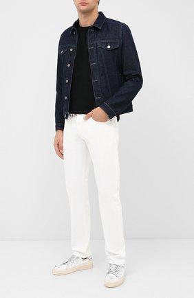 Мужская джинсовая куртка HUGO темно-синего цвета, арт. 50430954 | Фото 2