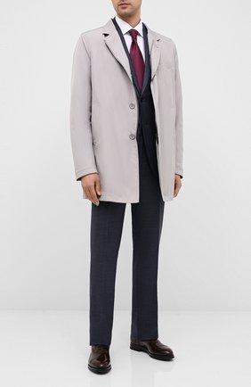 Мужские кожаные оксфорды W.GIBBS темно-коричневого цвета, арт. 0639012/0149 | Фото 2