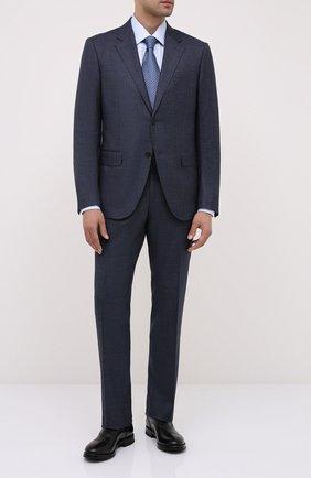 Мужские кожаные оксфорды W.GIBBS черного цвета, арт. 0220009/2302 | Фото 2