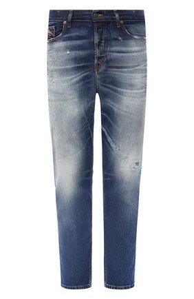 Мужские джинсы DIESEL синего цвета, арт. 00SSQ3/009FR | Фото 1
