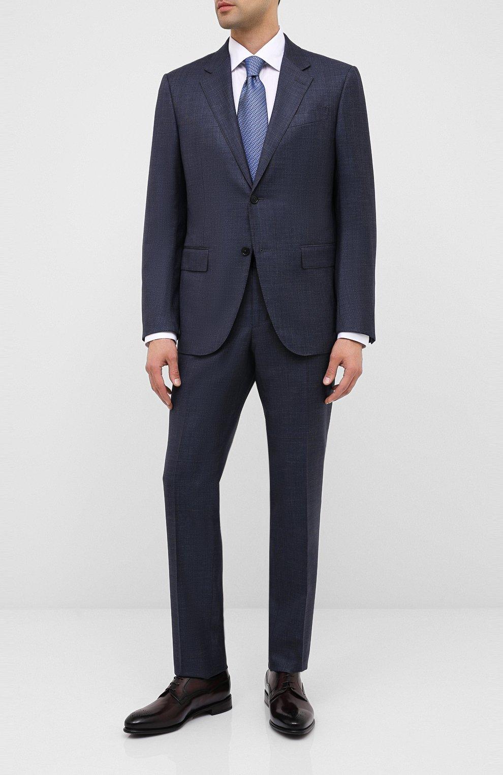 Мужские кожаные дерби BARRETT темно-коричневого цвета, арт. 192U092.7/BETIS CREAM | Фото 2