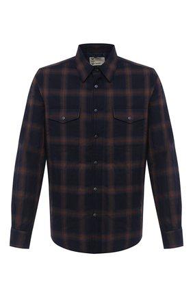 Мужская куртка-рубашка ASPESI темно-синего цвета, арт. W0 A CE27 L531 | Фото 1