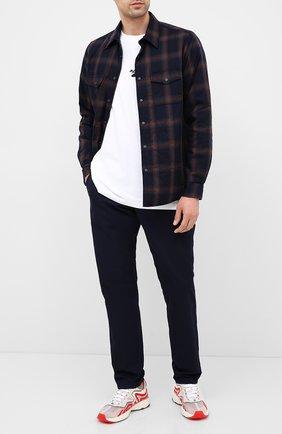 Мужская куртка-рубашка ASPESI темно-синего цвета, арт. W0 A CE27 L531 | Фото 2